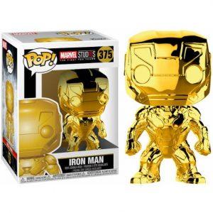 Funko Pop! Iron Man Cromado (Marvel Studios 10)