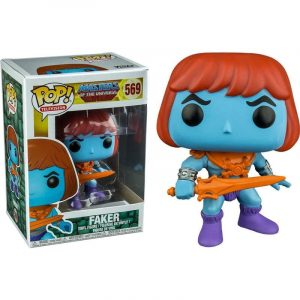 Funko Pop! Master Of The Universe Faker Exclusivo