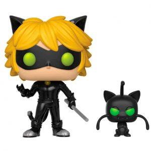 Funko Pop! Miraculous Ladybug Cat Noir with Plagg