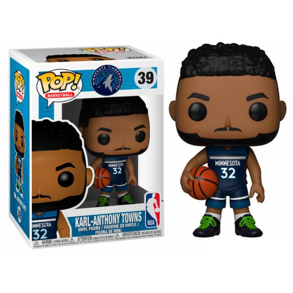 Figura POP NBA Timberwolves Karl-Anthony Towns