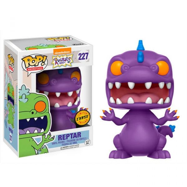 Figura POP! Nickelodeon 90's Rugrats Reptar Chase