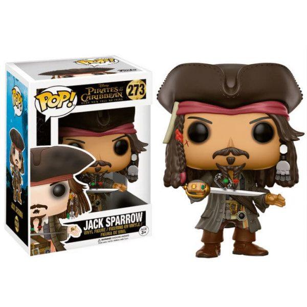 Figura POP Pirates of the Caribbean Captain Jack Sparrow