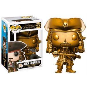 Funko Pop! Piratas del Caribe Jack Sparrow Gold Version Disney