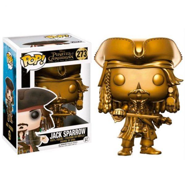 Figura POP! Pirates of the Caribbean Jack Sparrow Gold Version Disney