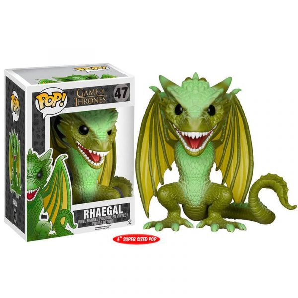 Figura POP Rhaegal Game of Thrones 15cm