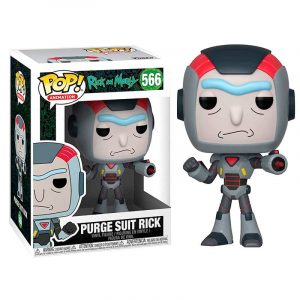 Funko Pop! Purge Suit Rick [Rick and Morty]