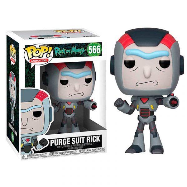 Figura POP Rick & Morty Purge Suit Rick serie 6