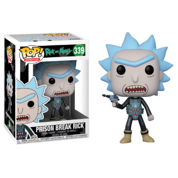 Figura POP Rick & Morty Prison Escape Rick