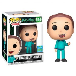 Funko Pop! Tracksuit Jerry Exclusivo SDCC 2019 [Rick and Morty]