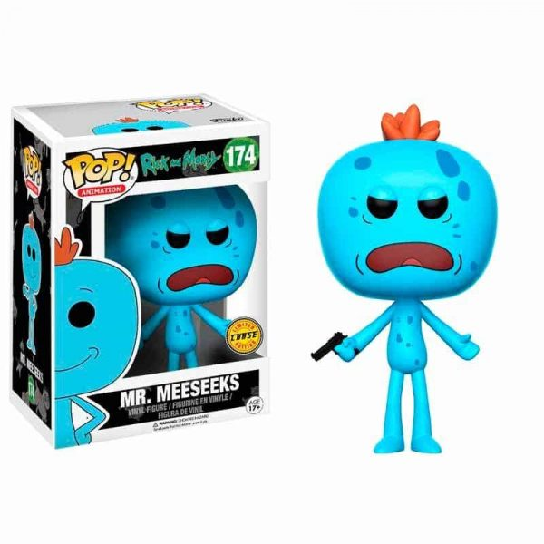 Figura POP Rick and Morty Mr. Meeseeks Chase