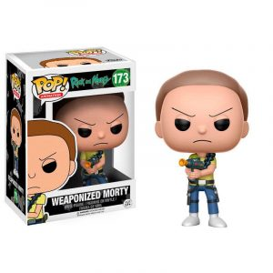 Funko Pop! Weaponized Morty [Rick and Morty]
