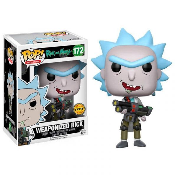 Figura POP Rick and Morty Weaponized Rick Chase