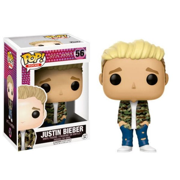Figura POP Rocks Justin Bieber