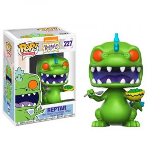 Funko Pop! Rugrats Reptar with Cereal Box Exclusivo