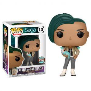 Funko Pop! Saga Alana with Hazel Exclusivo