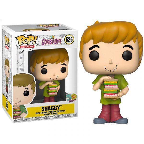 Figura POP Scooby Doo Shaggy with Sandwich