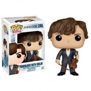Funko Pop! Holmes (Con Violín) [Sherlock]