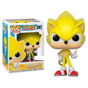 Funko Pop! Super Sonic Exclusivo [Sonic]