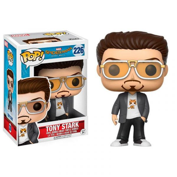 Figura POP Spider-Man Homecoming Tony Stark