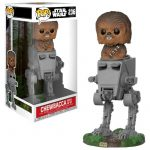 Funko Pop! AT-ST (Con Chewbacca) [Star Wars]