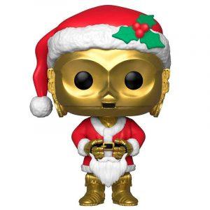 Funko Pop! Santa C-3PO Holiday [Star Wars]