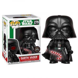 Funko Pop! Darth Vader [Star Wars Holiday] GITD Chase