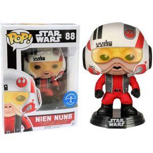 Funko Pop! Nien Nunb (Con casco) [Star Wars] Exclusivo