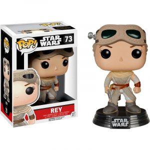Funko Pop! Rey (Con gafas) [Star Wars] Exclusivo