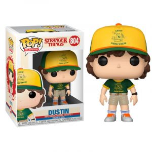 Funko Pop! Dustin (Campamento) [Stranger Things]