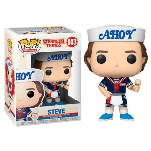Funko Pop! Steve (Con Sombrero y Helado) (Stranger Things 3)