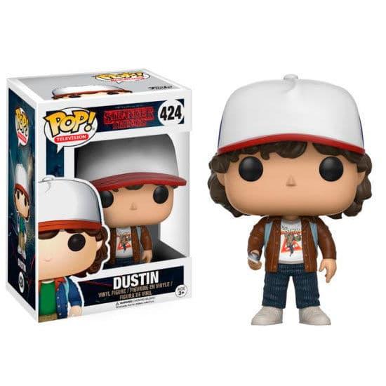Figura POP! Stranger Things Dustin Variant Exclusive