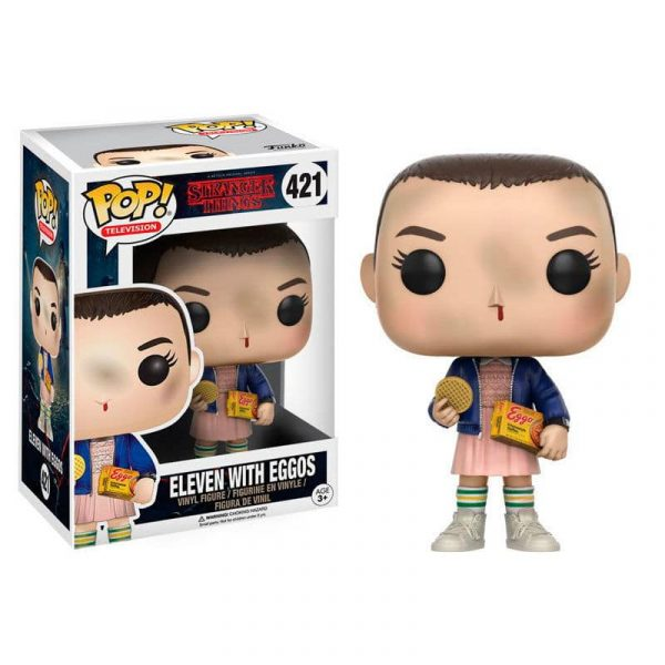 Figura POP Stranger Things Eleven with Eggos