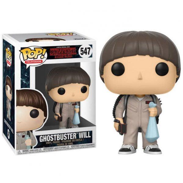 Figura POP Stranger Things Ghostbuster Will