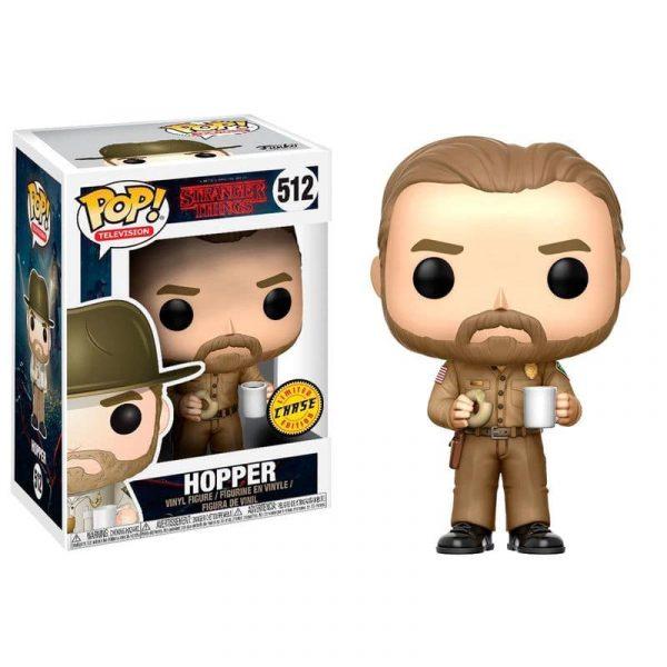 Figura POP Stranger Things Hopper Chase