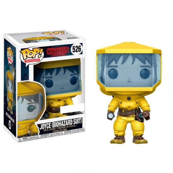 Figura POP! Stranger Things Joyce in Bio Hazard Suit Exclusive