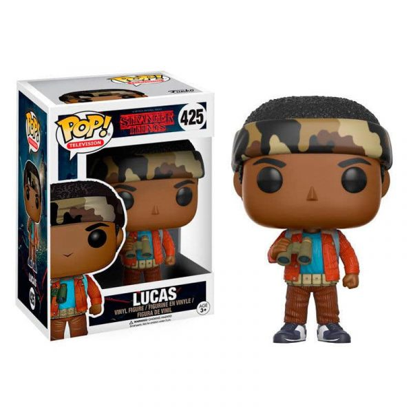 Figura POP Stranger Things Lucas with Binoculars