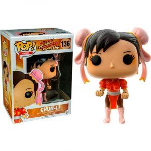 Funko Pop! Street Fighter Chun-Li red Exclusivo