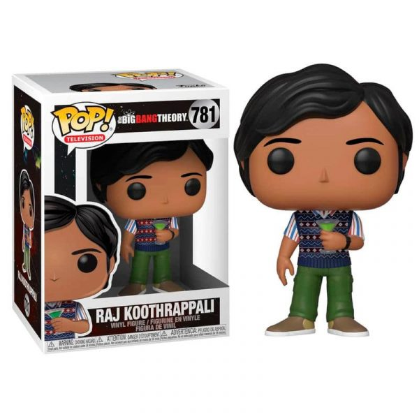 Figura POP The Big Bang Theory Raj serie 2