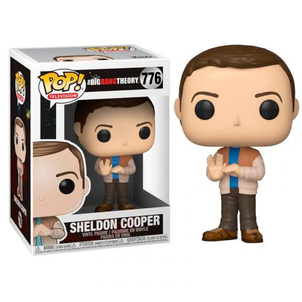 Figura POP The Big Bang Theory Sheldon serie 2