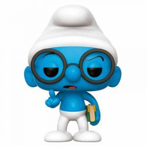 Funko Pop! Los Pitufos Brainy Smurf