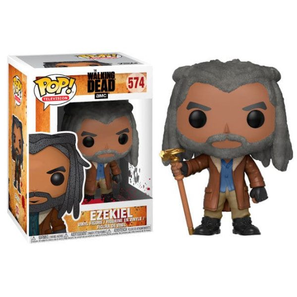 Figura POP The Walking Dead Ezekiel