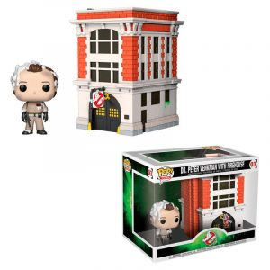 Funko Pop! Dr. Peter Venkman With Firehouse [Cazafantasmas]