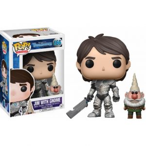 Funko Pop! Trollhunters Jim armored with gnome