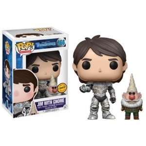Funko Pop! Trollhunters Jim armored with gnome Chase