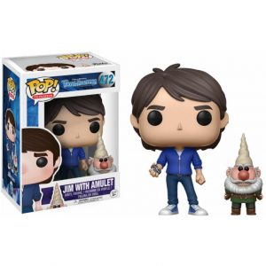 Funko Pop! Trollhunters Jim with amulet and gnome Exclusivo