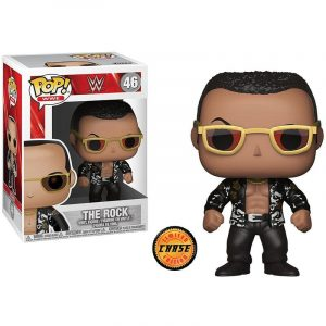 Funko Pop! WWE The Rock Old School Series 6 Chase