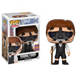 Funko Pop! Westworld Young Dr. Ford Unmasked 2017 Exclusivo