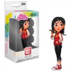 Figura Rock Candy Disney Comfy Princesses Mulan