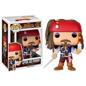 Funko Pop! Disney Piratas del Caribe Captain Jack Sparrow
