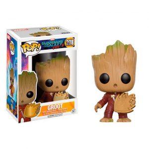 Funko Pop! Groot (Con escudo) [Guardianes de la Galaxia]